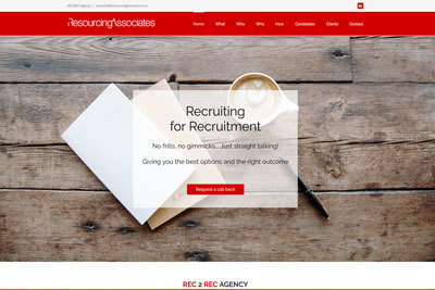 recruitment consultant websites